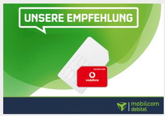 Bild zu [beendet] 6GB LTE Datenflat (bis 50Mbit) inkl. Sprachflat im Vodafone Netz für 5,99€ im Monat