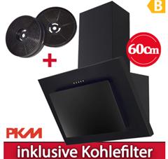 Bild zu PKM Dunstabzugshaube 60cm inkl. zwei Kohlefilter CF140 für 66€ (Vergleich: 87,87€)