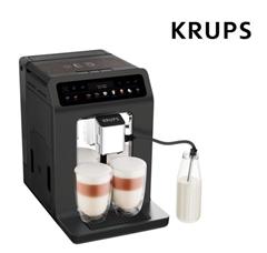 Bild zu KRUPS EA895N Evidence Kaffeevollautomat (2.3 Liter Wassertank, 15 bar, Meteor Graphit) für 408,90€ (Vergleich: 539€)