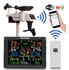 Bild zu Sainlogic WLAN Wetterstation mit 8 Zoll Farb-Display und Außensensor für 164,44€