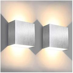 Bild zu Doppelpack SOLMORE LED Wandleuchte (6W, Up / Down-Effekt, 3000K, Warmweiß, 500LM) für 15,99€