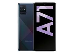 Bild zu Saturn Smartphone Purzelpreise, z.B. SAMSUNG Galaxy A71 128 GB Prism Crush Black Dual SIM für 298,73€