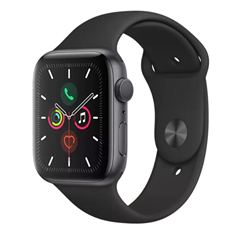 Bild zu APPLE Watch Series 5 44mm in Schwarz/Space Grey ab 345,80€ (VG: 407,99€)