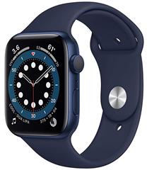 Bild zu Vorbestellung: Apple Watch Series 6 (GPS, 44mm) in blau für 405,68€ (VG: 466,70€)