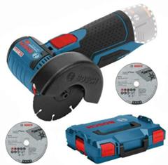 Bild zu [Beendet: B-Ware] Bosch Akku-Winkelschleifer GWS 12 V-76 (10,8-76) Professional (ohne Akku, in L-Boxx) für 59,99€ (Vergleich: 92,89€)