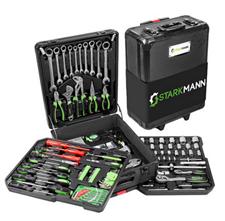 Bild zu 399-teiliger Starkmann Blackline Premium Werkzeugkoffer für 89,38€ (Vergleich: 144,44€)
