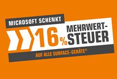 Bild zu Saturn: Microsoft schenkt 16% MwSt. auf alle Surface Geräte, z.B. Microsoft Surface Go 2 Platin für 499,14€