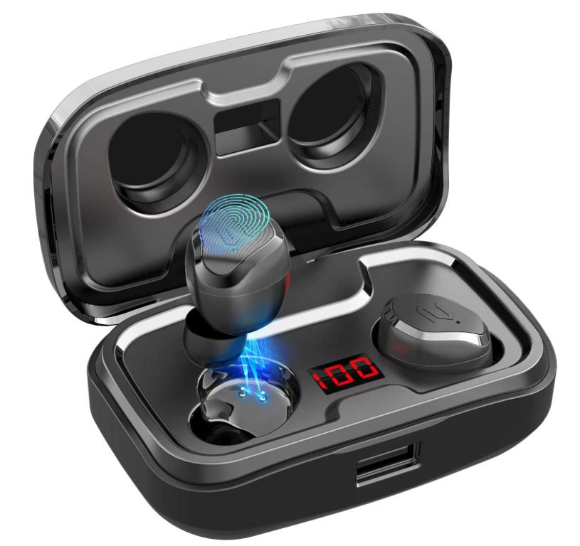Bild zu AIKELA Bluetooth 5.0 in Ear Kopfhörer für 23,99€ dank 40% Rabatt