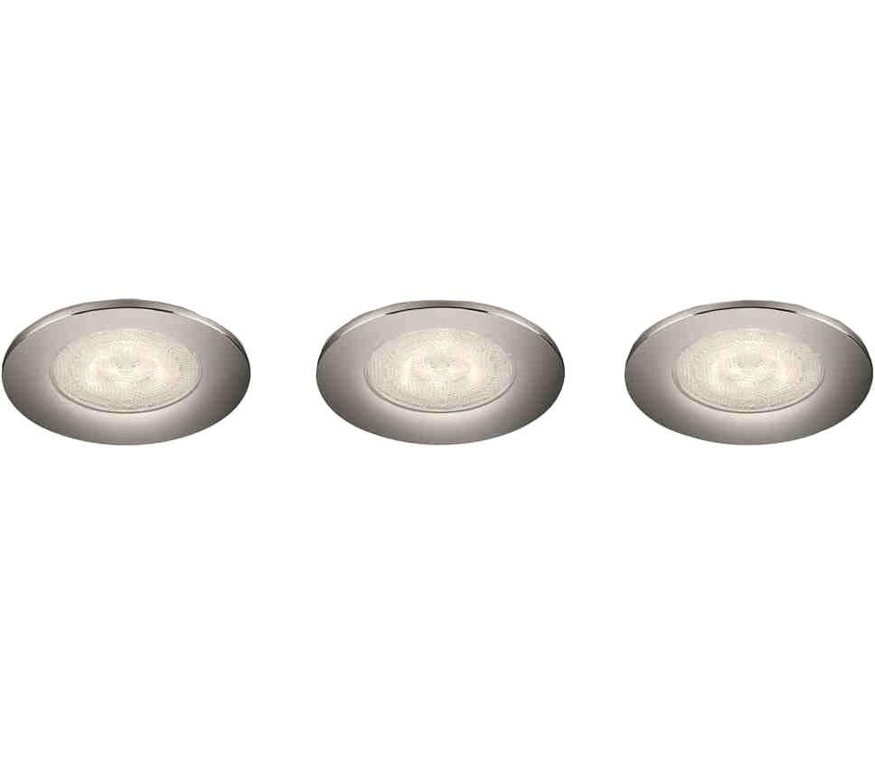 Bild zu 3x Philips Sceptrum LED-Einbauspots für 18,90€ (Vergleich: 24,79€)