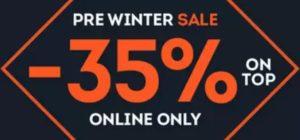 Pre Winter Sale