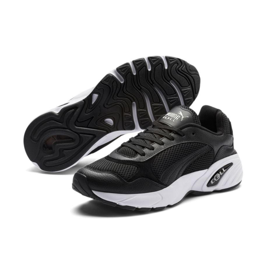 Bild zu PUMA CELL Viper Leather Sneaker in schwarz oder weiß für 29,95€ (VG: 40,20€)