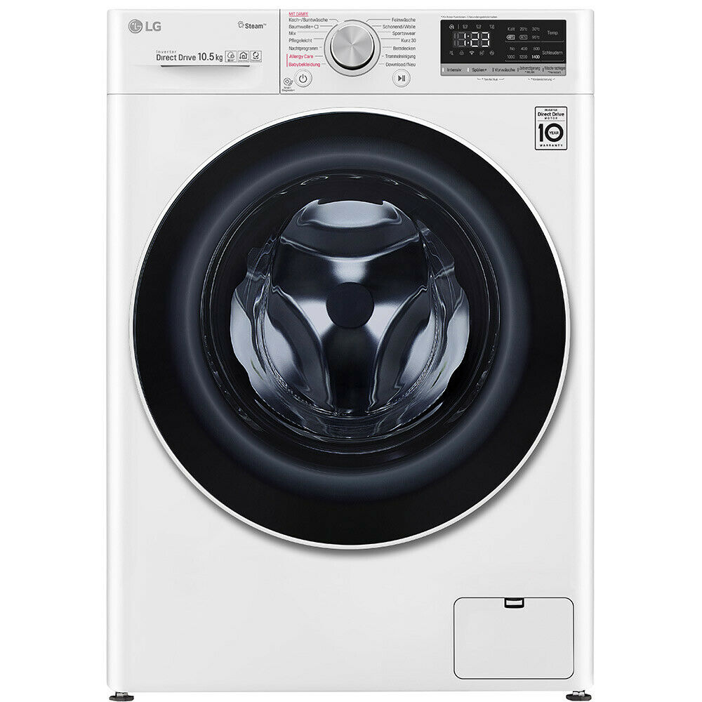 Bild zu 10,5 kg Waschmaschine LG V5105S für 444€ (Vergleich: 592,24€)