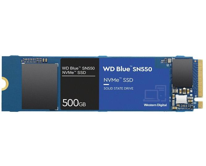 Bild zu Western Digital WD Blue SN550 NVMe SSD 500 GB für 53,99€ (Vergleich: 66,43€)