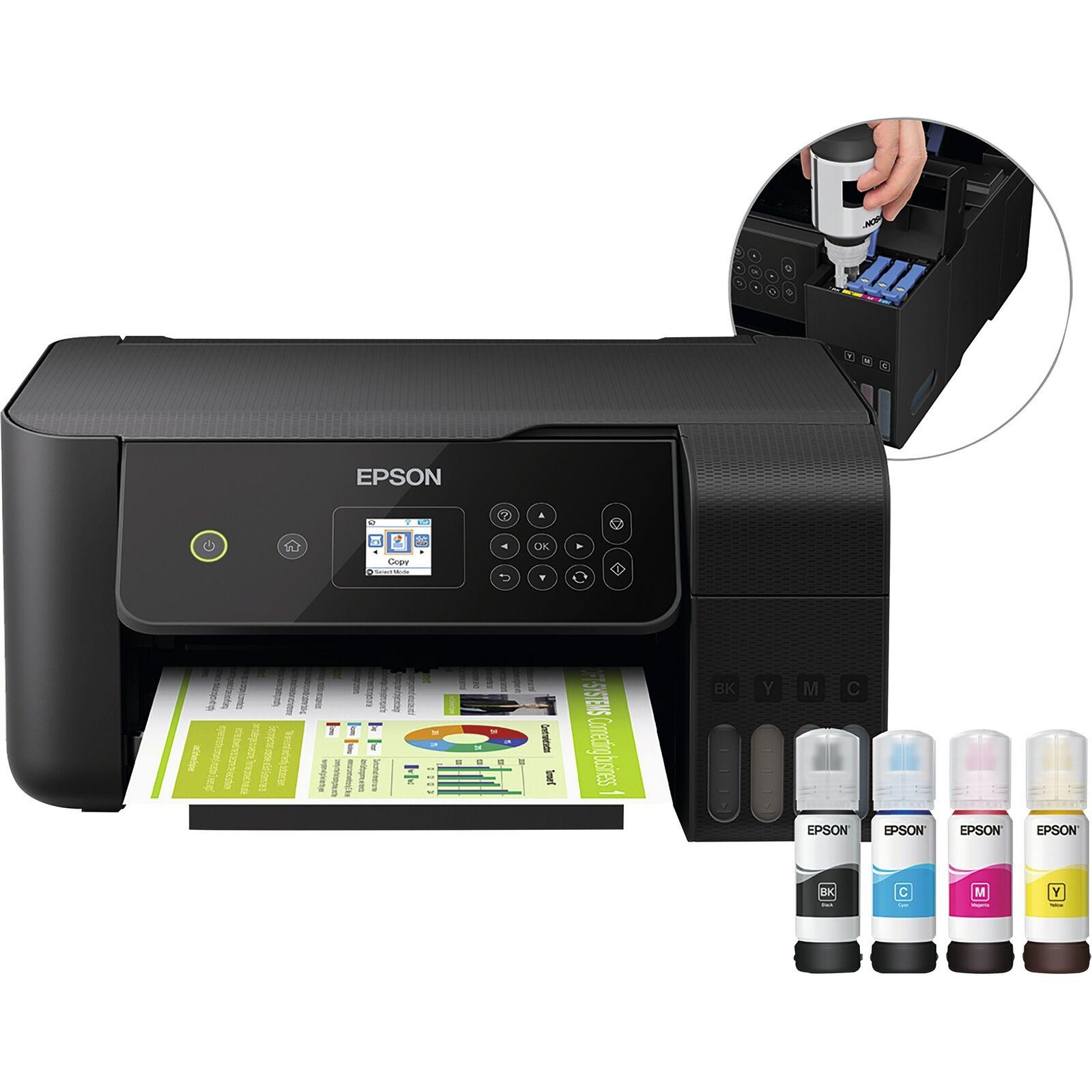 Bild zu 3in1 Drucker Epson EcoTank ET 2720 für 175,42€ (Vergleich: 219,51€)