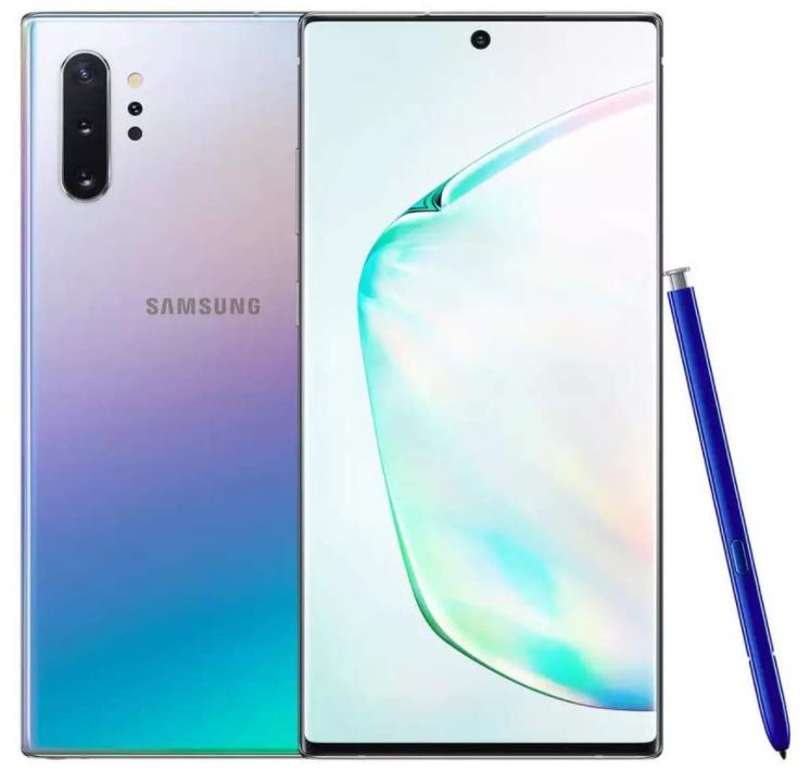 Bild zu Samsung Galaxy Note 10 Plus 5G (6,8″ WQHD+ AMOLED, 196g, 12/256GB, Exynos 9825, IP68, NFC, Qi, 4300mAh, 45/15W) für ~736,34€ (VG: 999,99€)