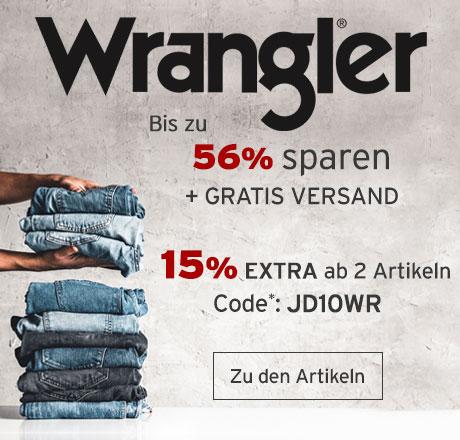 Bild zu Jeans Direct: Bis zu 56% Rabatt auf Wrangler + 15% Extra-Rabatt ab zwei Artikeln