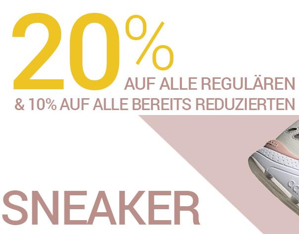 Bild zu Gebrüder Götz: 20% Rabatt auf reguläre und 10% Extra-Rabatt auf reduzierte Sneaker