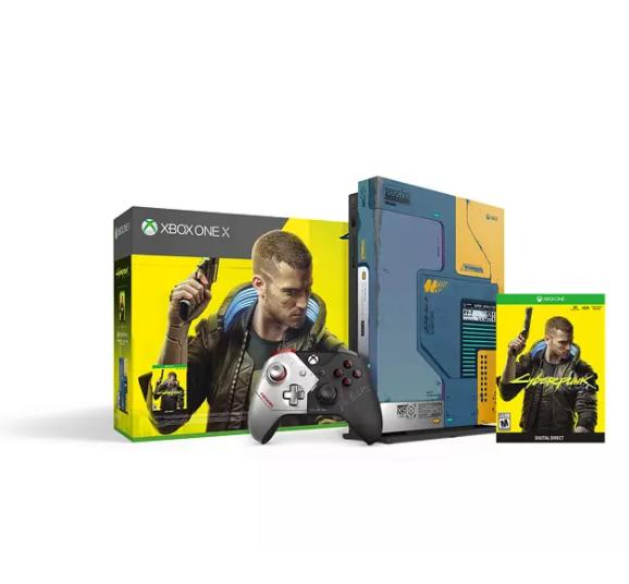 Bild zu MICROSOFT Xbox One X 1TB – Cyberpunk 2077 Limited Edition für 332,50€ (VG: 449€)