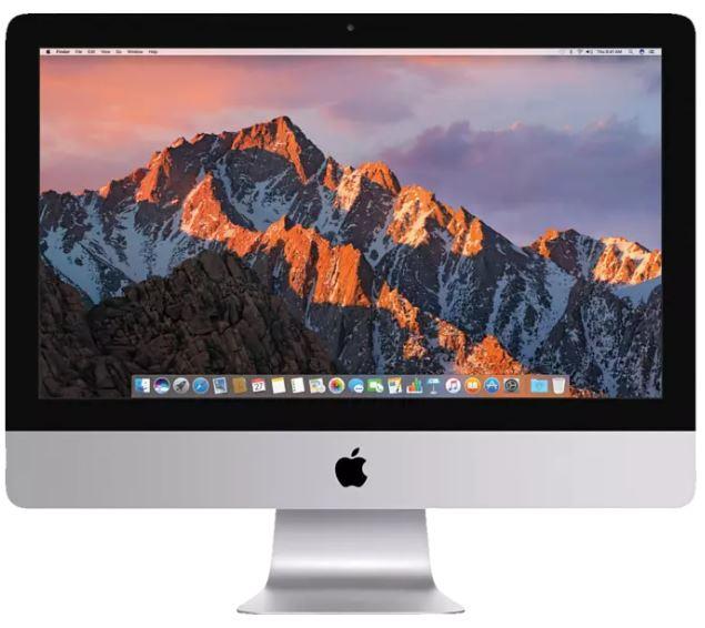 Bild zu APPLE MMQA2D/A iMac 21 Zoll, Core i5, 8 GB RAM, 1 TB HDD, Intel® Iris Plus-Grafik 640, Silber für 944,65€ (VG: 1172,65€) + Apple-TV für ein Jahr Gratis