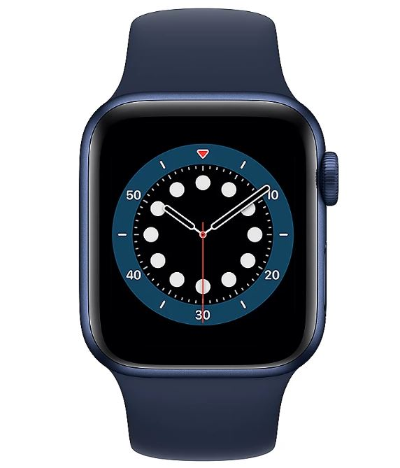 Bild zu Apple Watch Series 6 Aluminium Blau 40mm GPS Bluetooth für 368,91€ (VG: 412,89€)