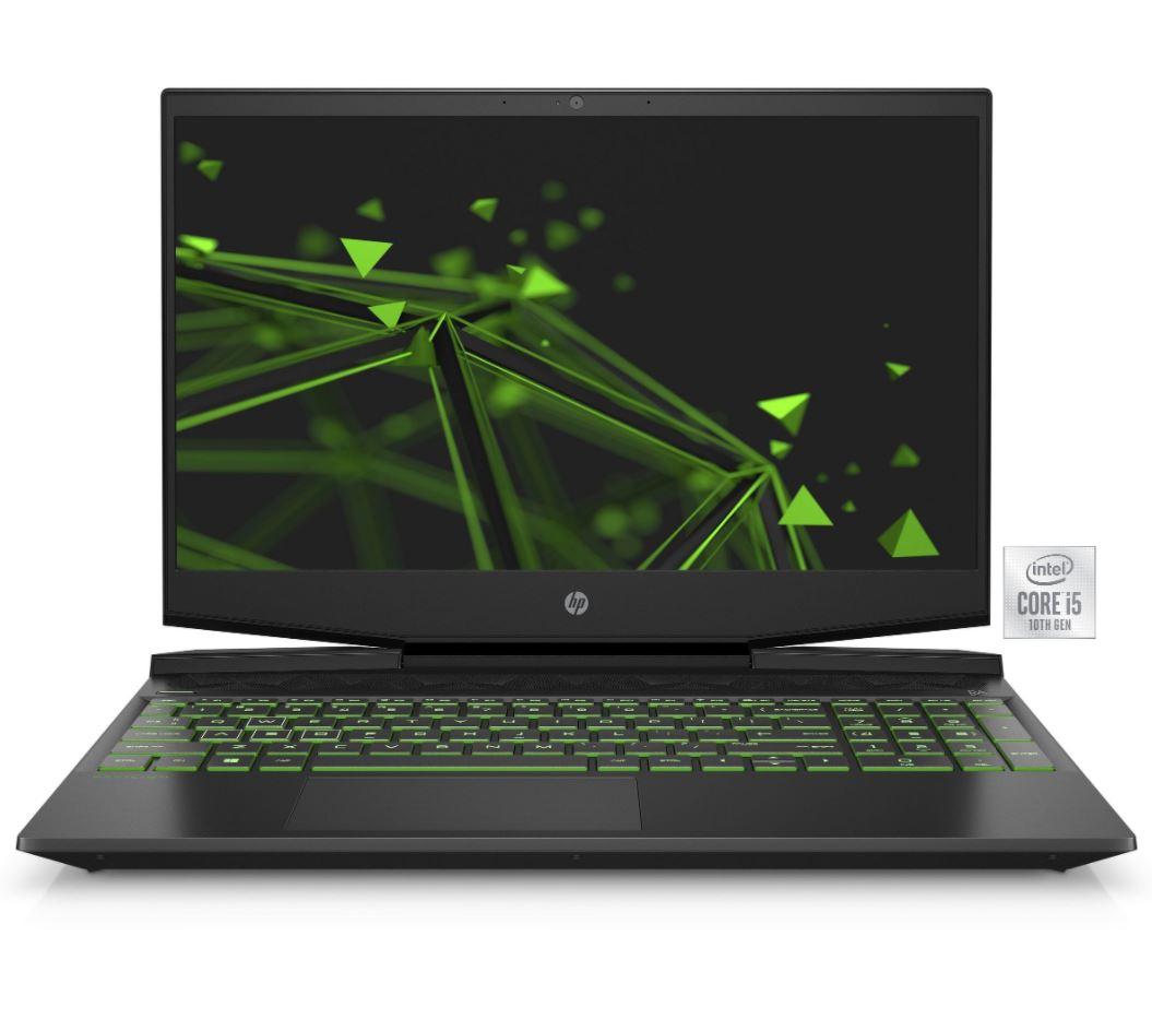 Bild zu HP Pavilion 15-dk1245ng Gaming-Notebook (39,6 cm/15,6 Zoll, Core i5, GTX 1650 Ti, 512 GB SSD, 8 GB RAM) für 742,44€ (VG: 849€)