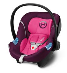 Bild zu cybex GOLD Babyschale Aton M Mystic Pink-purple für 72,67€ (Vergleich: 115,99€)