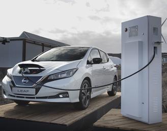 """Bild zu Nissan Leaf 40kWh ZE1 """"VISIA"""" Elektroauto mit Klimaautomatik usw. für 75€/Monat (24 Monate, 10.000km/Jahr, LF: 0,4)"""