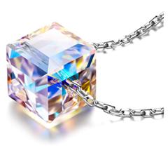 """Bild zu Alex Perry """"Schönes Leben"""" Damen Halskette Aurore Boreale (925 Sterling Silber, Kristall von Swarovski) für 9,99€"""