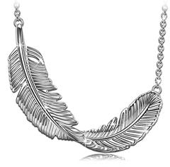 """Bild zu PRINCESS NINA Halskette """"Feder"""" aus Sterling Silber für 12,99€"""
