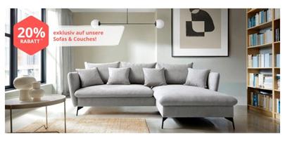 Bild zu Yourhome: 20% Rabatt auf Sofas und Couches