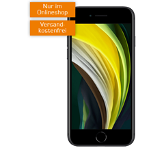 Bild zu APPLE iPhone SE für 49€ (VG: 424,99€) mit 20GB o2 Datenflat, SMS und Sprachflat für 24,99€/Monat