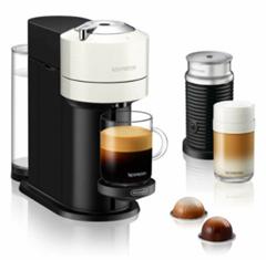 Bild zu DeLonghi Vertuo Next Nespressoautomat weiß inkl. Aeroccino 3 für 68,24€ (Vergleich: 112,29€)
