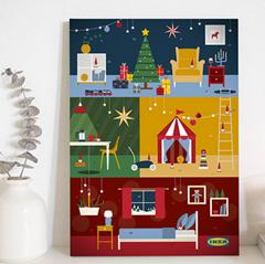 Bild zu IKEA Adventskalender ab sofort verfügbar (12,71€ plus Versand) = mindestens 2 x 5€ Ikea Gutscheine inklusive