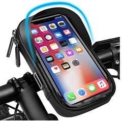 """Bild zu Pezimu Fahrradlenkertasche für bis zu 6,5"""" Handys für 8,99€"""
