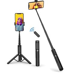 Bild zu ATUMTEK Bluetooth Selfie Stick (auch als Stativ nutzbar) für 18,19€