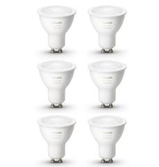 Bild zu Philips Hue White Ambiance GU10 Spot (Bluetooth) im 6er Pack für 89,90€ (VG: 105,09€)