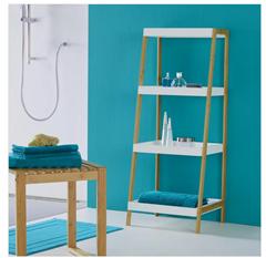 Bild zu Badezimmerregal in Weiß 'Mirella' für 17,50€