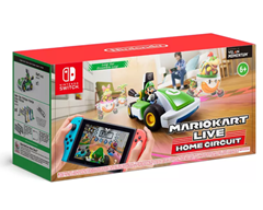 Bild zu [Bestpreis] Mario Kart Live: Home Circuit (Switch) Luigi oder Mario Set für je 81,03€ (Vergleich: 103,85€) – mit Newsletter Rabatt