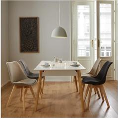 """Bild zu Bessagi Home Stuhl """"Rocksi"""" in 3 Farben für je 27,93€ zzgl. 5,95€ Versand"""