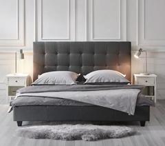 Bild zu Polsterbett in Grau ca. 180x200cm 'Frederico' ab 139,30€