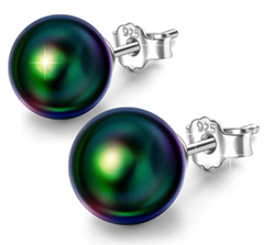 """Bild zu [bis 16:55 Uhr] Susan Y Damen Ohrringe """"Nur Sie Perlenserie"""" mit Perlen von Swarovski (925 Sterling Silber) für 8,99€"""