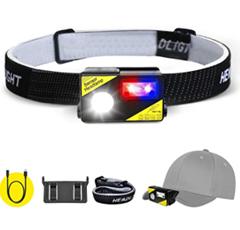 Bild zu SGODDE USB Wiederaufladbare LED Stirnlampe für 10,34€