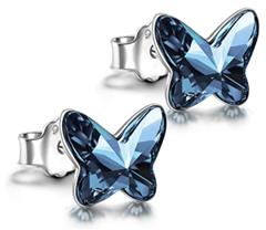 Bild zu ANGEL NINA – 925 Sterling Silber Ohrstecker für 9,99€