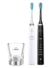 Bild zu Philips Sonicare DiamondClean HX9392/40 elektrische Zahnbürste im Doppelpack mit Ladeglas & Travelcase ab 160,66€ (Vergleich: 213,95€)