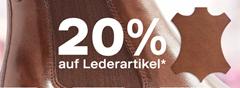 Bild zu Deichmann: 20% Rabatt auf alle Lederartikel