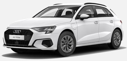 Bild zu Audi A3 TFSIe (204PS) Hybrid  für 169€/Monat (10.000km/Jahr, 24 Monate Laufzeit, LF = 0.5)