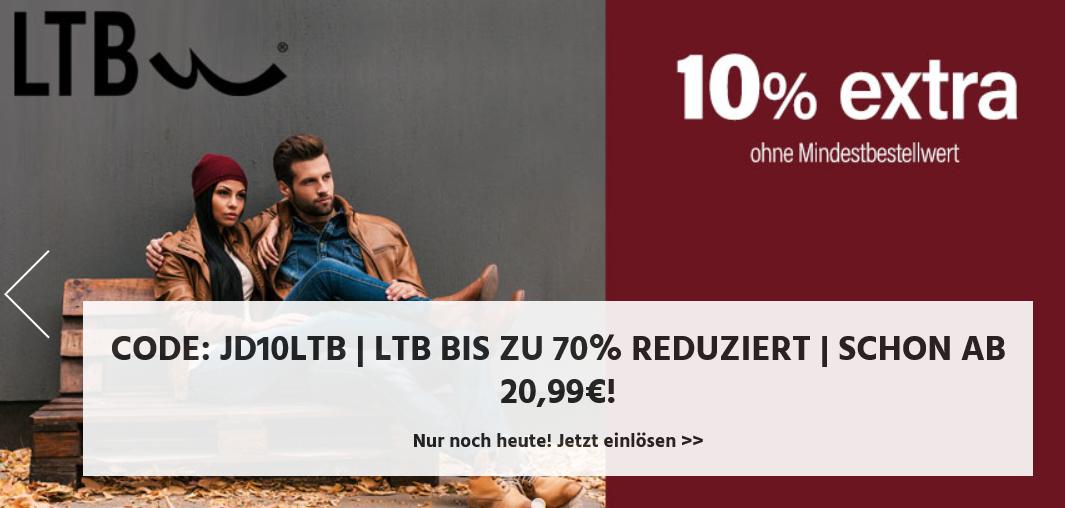 Bild zu Jeans Direct: Bis zu 70% Rabatt auf LTB Jeans und weitere 10% Extra-Rabatt