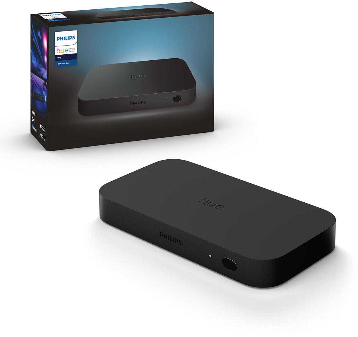 Bild zu Philips Hue Play HDMI Sync Box für 219€ (Vergleich: 242,90€)
