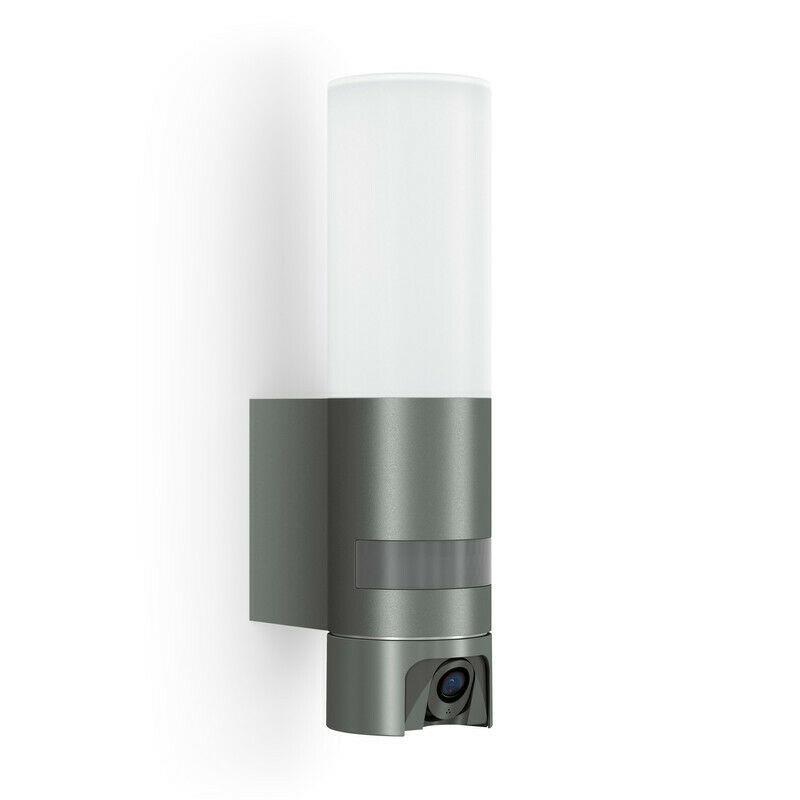 Bild zu [Refurbished] LED-Außenleuchte mit Bewegungsmelder und Überwachungskamera Steinel L 600 CAM für 97,47€ (Vergleich: 146,32€)