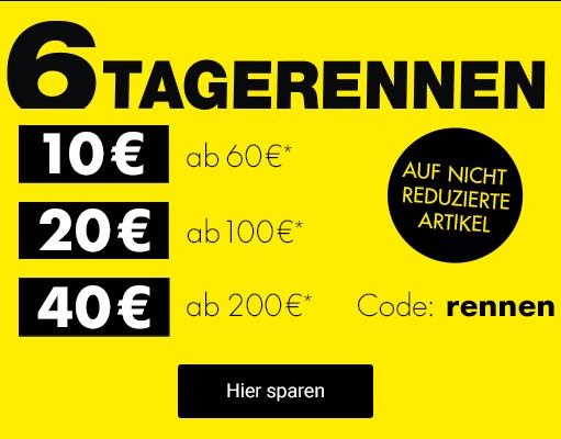 Bild zu Galeria.de – 6-Tage-Rennen, 10€ Rabatt ab 60€, 20€ ab 100€, 40€ ab 200€ Bestellwert
